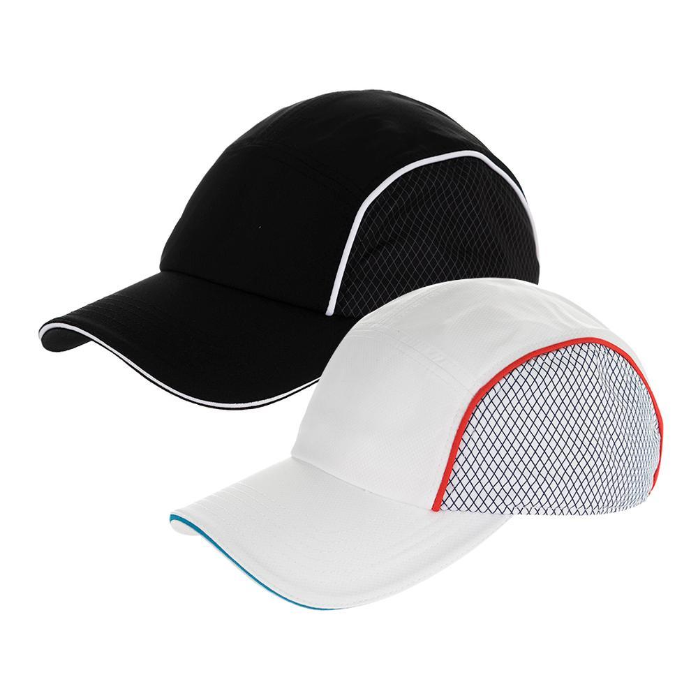 T1 6 Panel Taffeta Tennis Cap