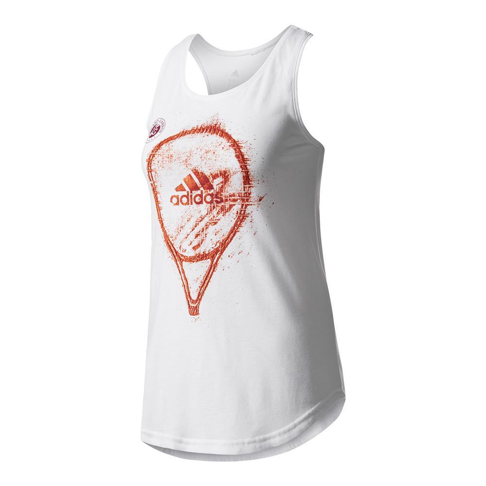 Women's Roland Garros Graphic Tennis Tank White