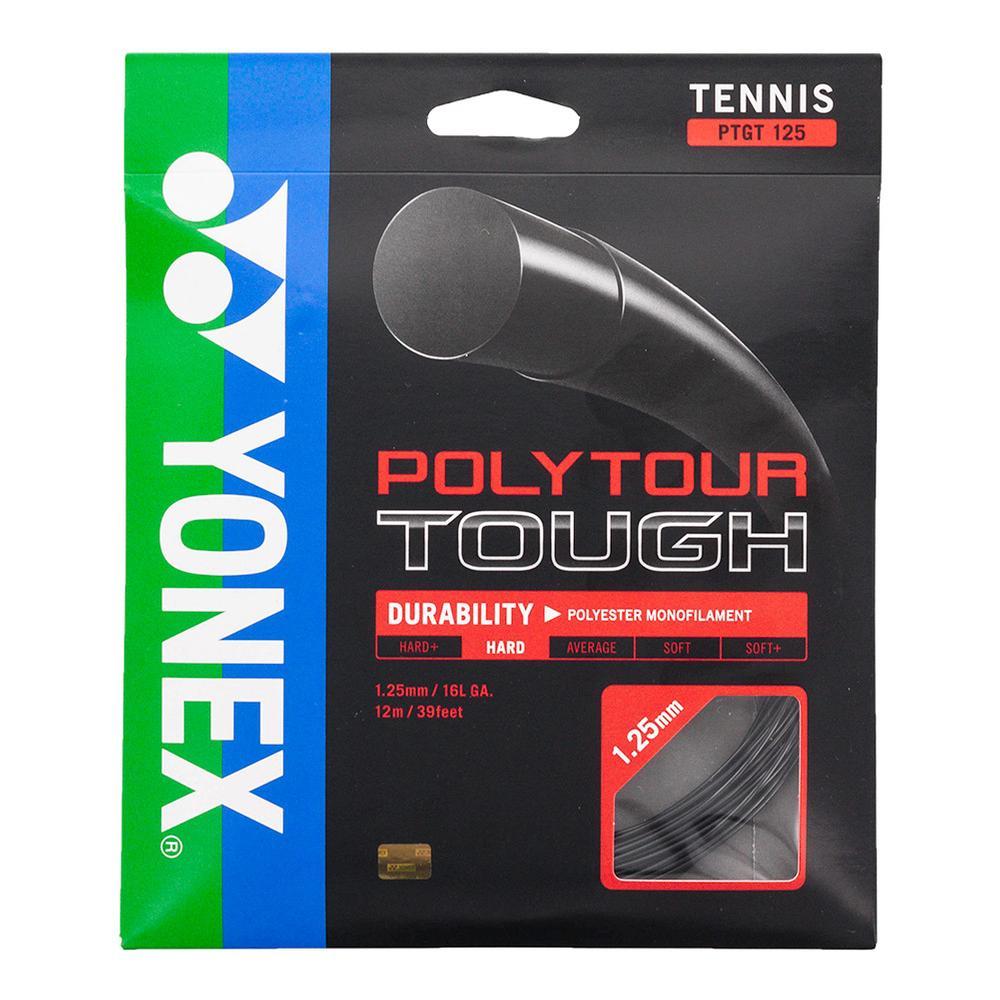 Polytour Tough 125 Tennis String Black