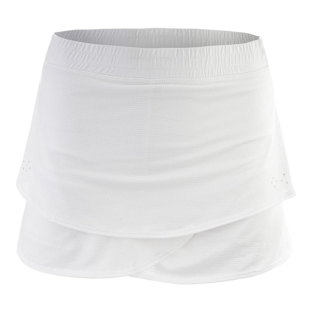 Girls'snap It Tennis Skort White