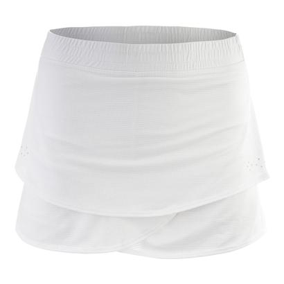 Girls` Snap It Tennis Skort White