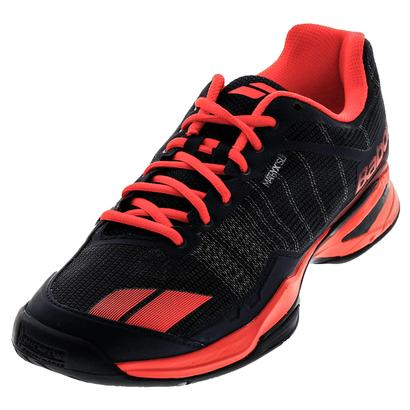 Men`s Jet Team All Court Tennis Shoes Blue and Red