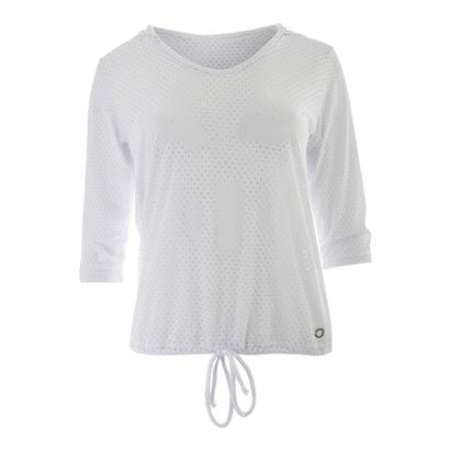 Women`s Full Screen Tennis Hoody White