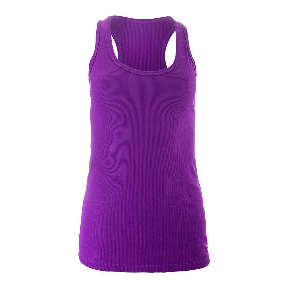 Women's Perf Tennis Tank Purple