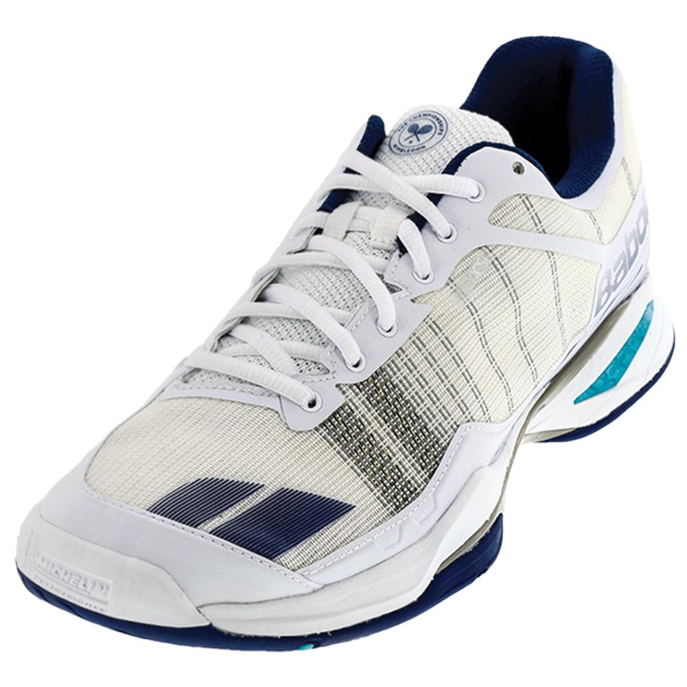 Men's Jet Team All Court Wimbledon Tennis Shoes White