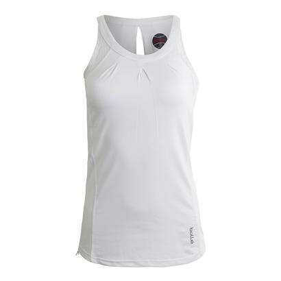 Women`s Sofia Tennis Tank White