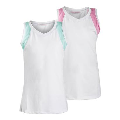 Girls` Color Block Tennis Tank