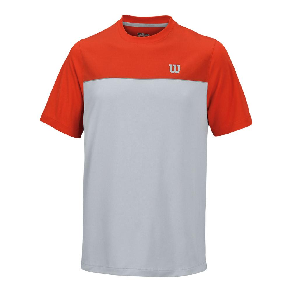 Men's Star Bonded Tennis Crew Fiest And Pearl Gray