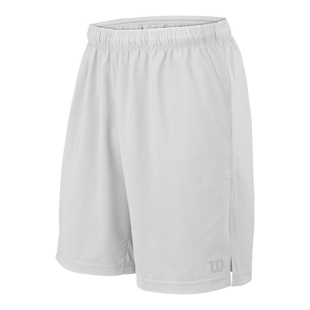 Men's Rush 9 Inch Woven Tennis Short White