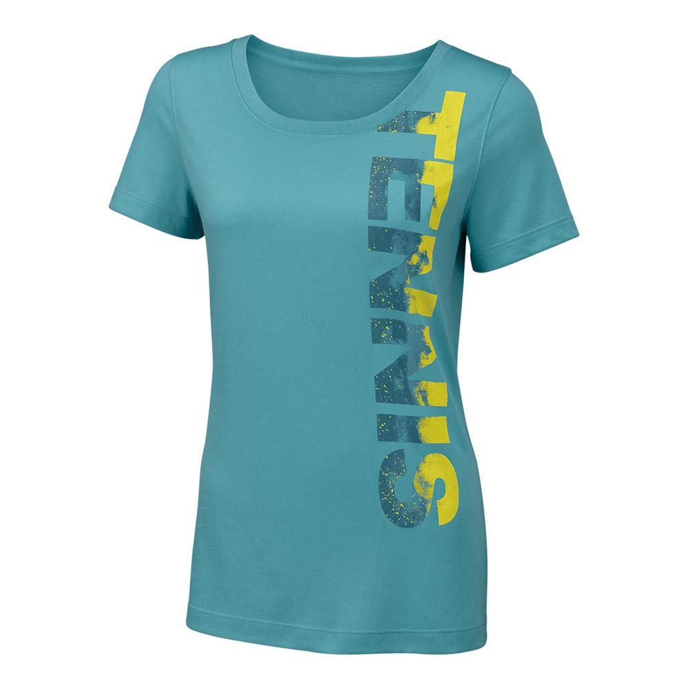 Women's Tennis Tech Tee Aqua