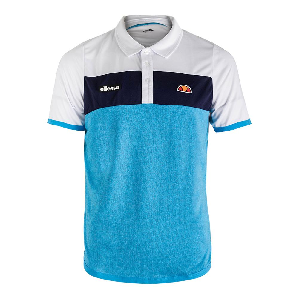 Men's Orsi Tennis Polo Navy And Blue