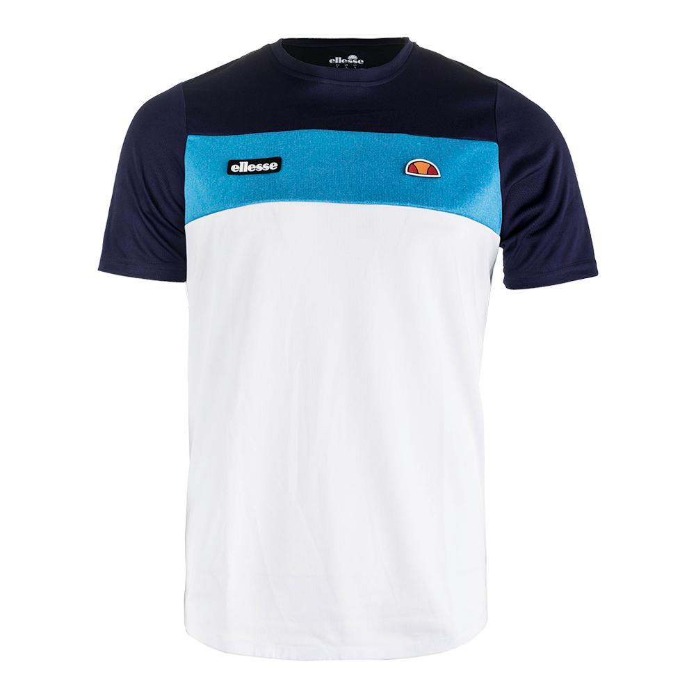 Men's Merlo Tennis Tee Navy And Blue