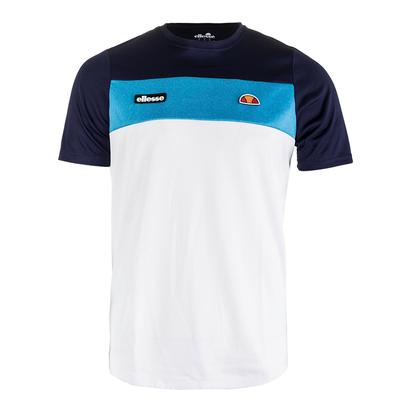 Men`s Merlo Tennis Tee Navy and Blue