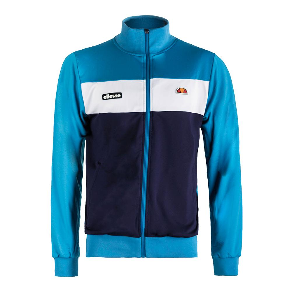 Men's Losi Tennis Jacket Blue And Navy