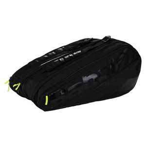 Pure 12 Pack Tennis Bag Black