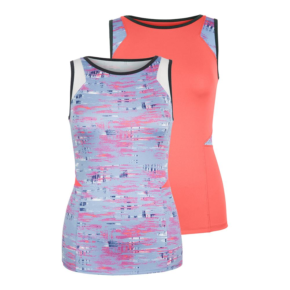 Women's Lilly Tennis Tank Reef
