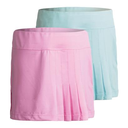 Girls` Side Pleated Tennis Skort