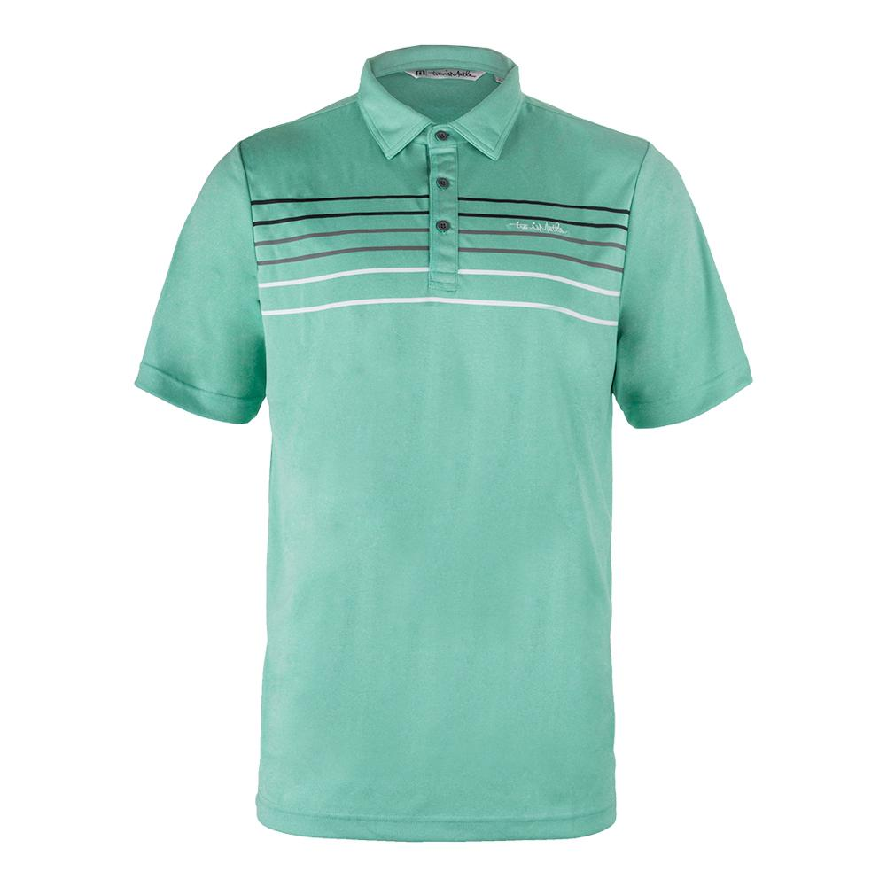 Men's Malm Tennis Polo Gumdrop Green