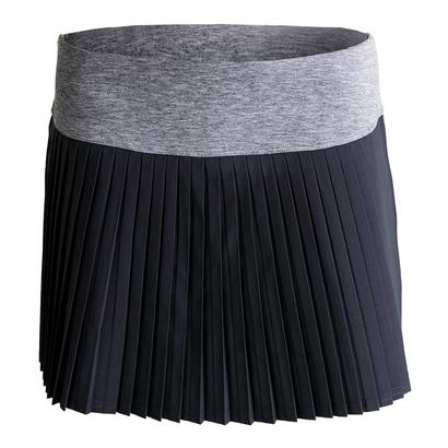 Women`s Daniela 13.5 Inch Pleated Tennis Skort Graphite