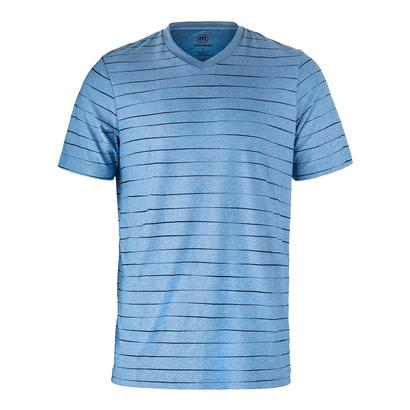 Men`s Adair Tennis Crew Heather Sky Blue