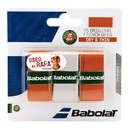 VS Grip French Open Tennis Overgrips Clay and White