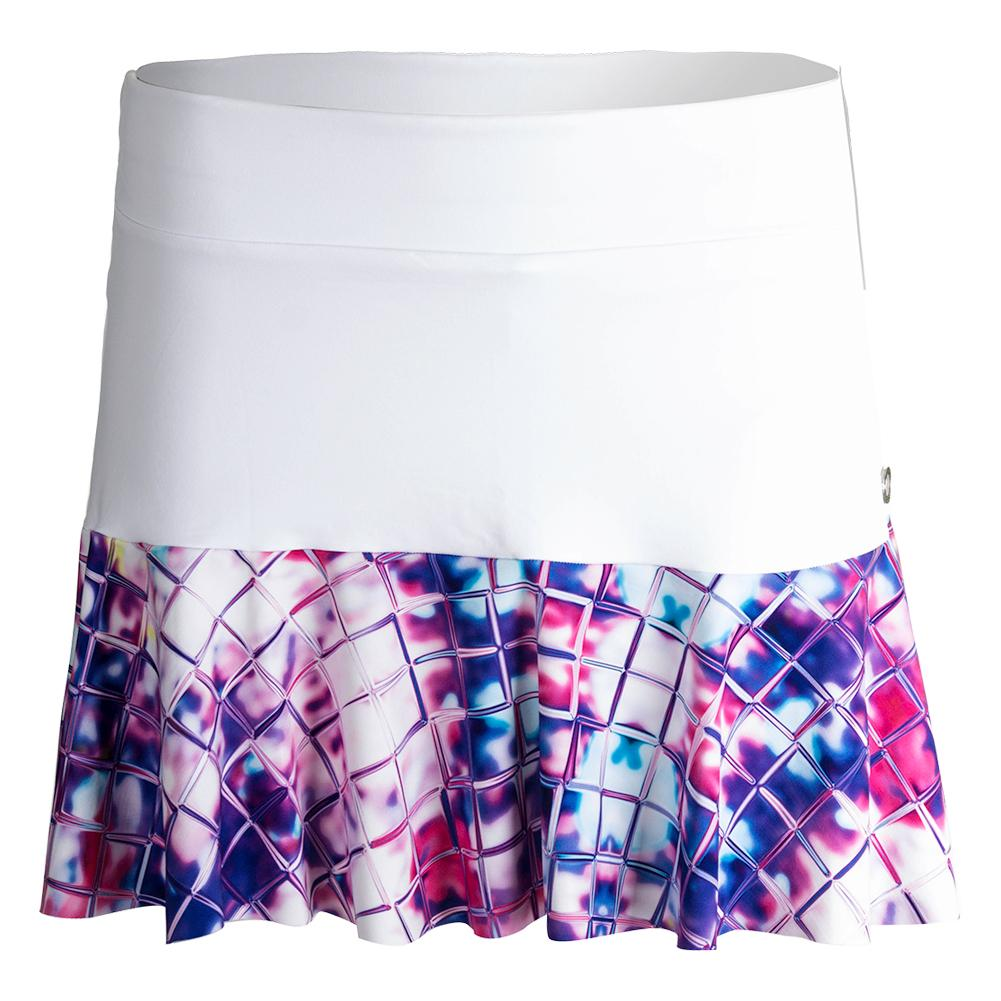 Women's Half Tennis Skirt Passion Print
