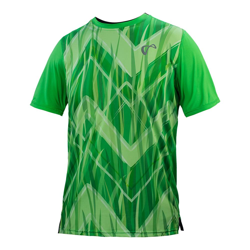 Boys ` Up And Down Mesh Back Match Tennis Crew Mint