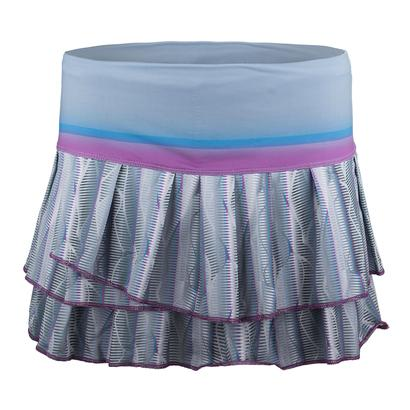 Women`s Fast Track Pleat Tier Tennis Skort Print