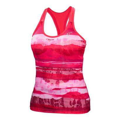 Women`s Acid Blurr Racerback Tennis Tank Rogue