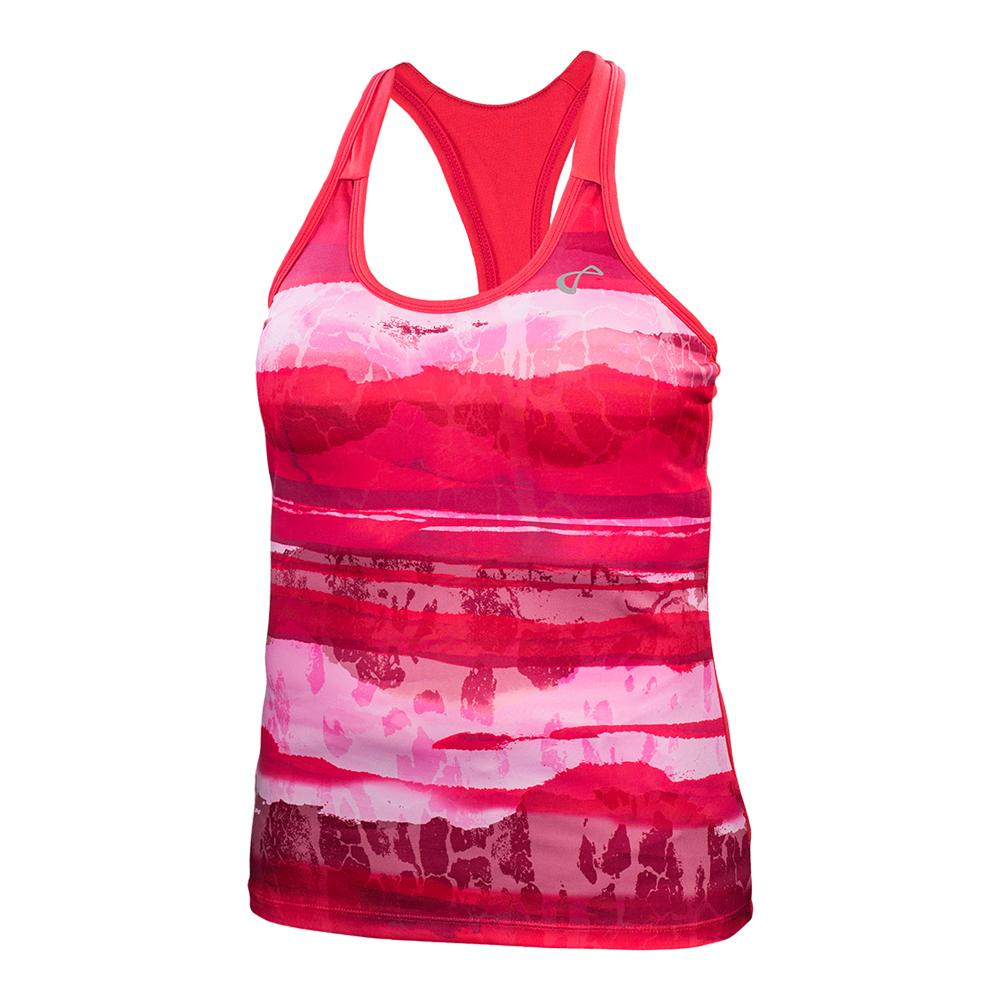 Girls ` Acid Blurr Racerback Tennis Tank Rogue
