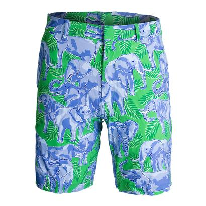 Men`s Printed Links to Beach Short Hamptons Elephants