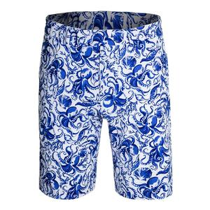 Men`s 4 Way Stretch Printed Short
