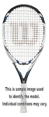 WILSON THREE BLX USED TENNIS RACQUET 4_3/8