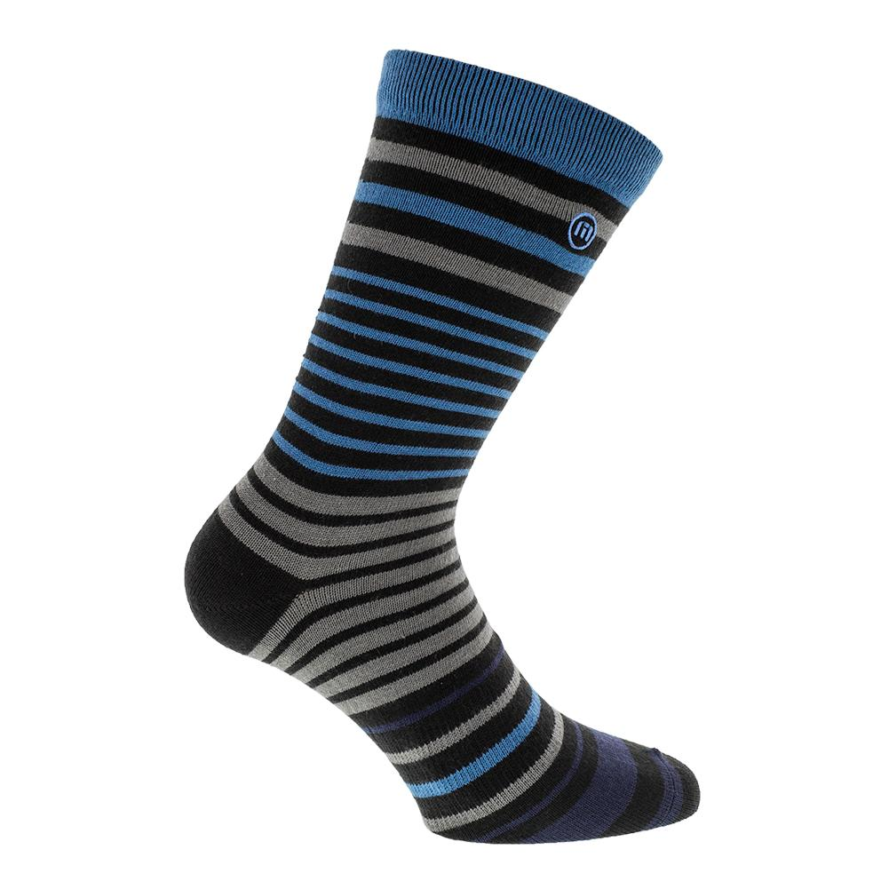 Men's Harvey Wallbander Tennis Socks Black