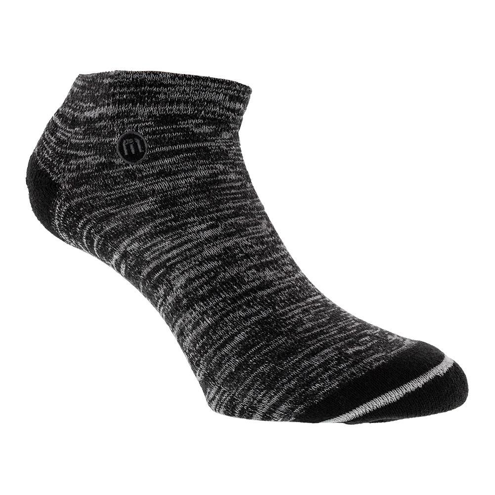 Men's Newcomb Tennis Socks Black Heather