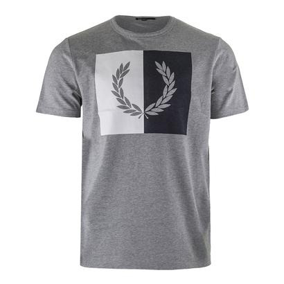 Men`s Split Laurel Wreath Tennis Tee