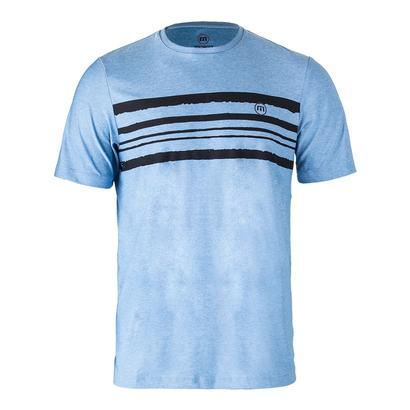 Men`s Capalbo Tennis Crew Heather Sky Blue