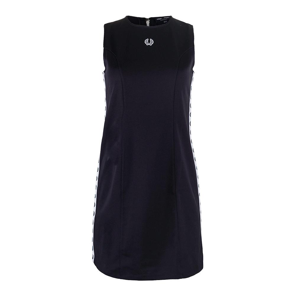 Women's Taped Tennis Dress Navy