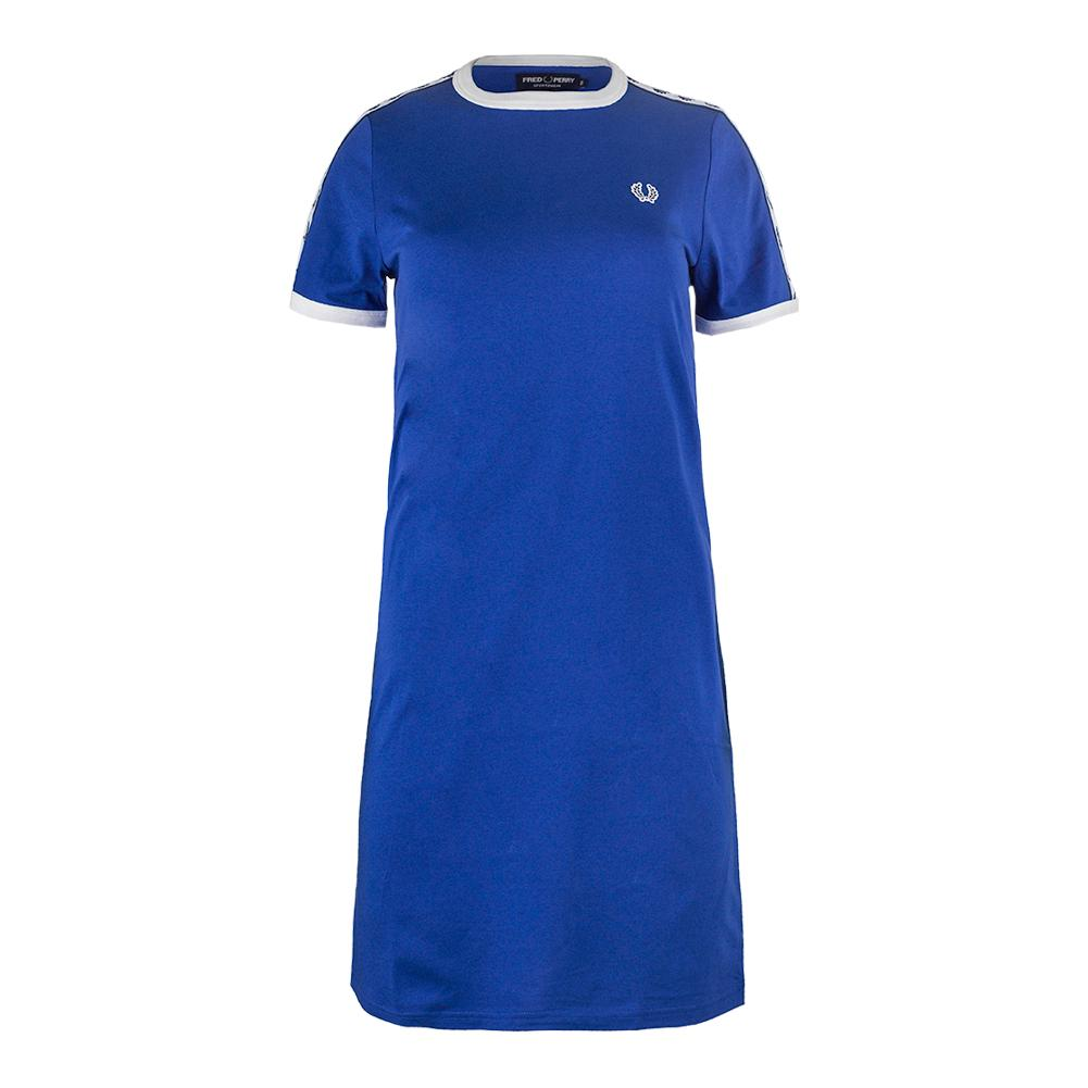 Women's Taped Ringer Tennis Dress Regal
