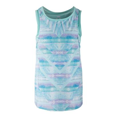 Girls` Shoreline Tennis Bralette Lagoon