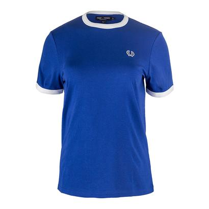 Women`s Ringer Tennis Tee Regal