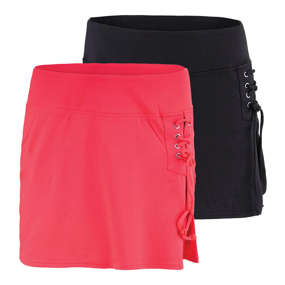 Women's Lace Up Tennis Skort