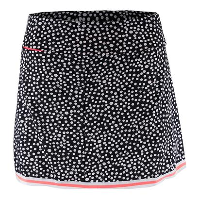 Women`s Banded Swing Tennis Skort Ink Spot Print