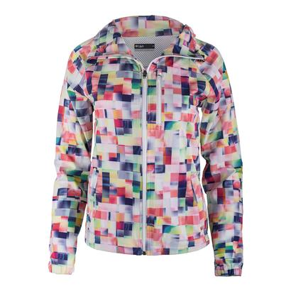 Women`s Game Day Tennis Jacket Pixel Print