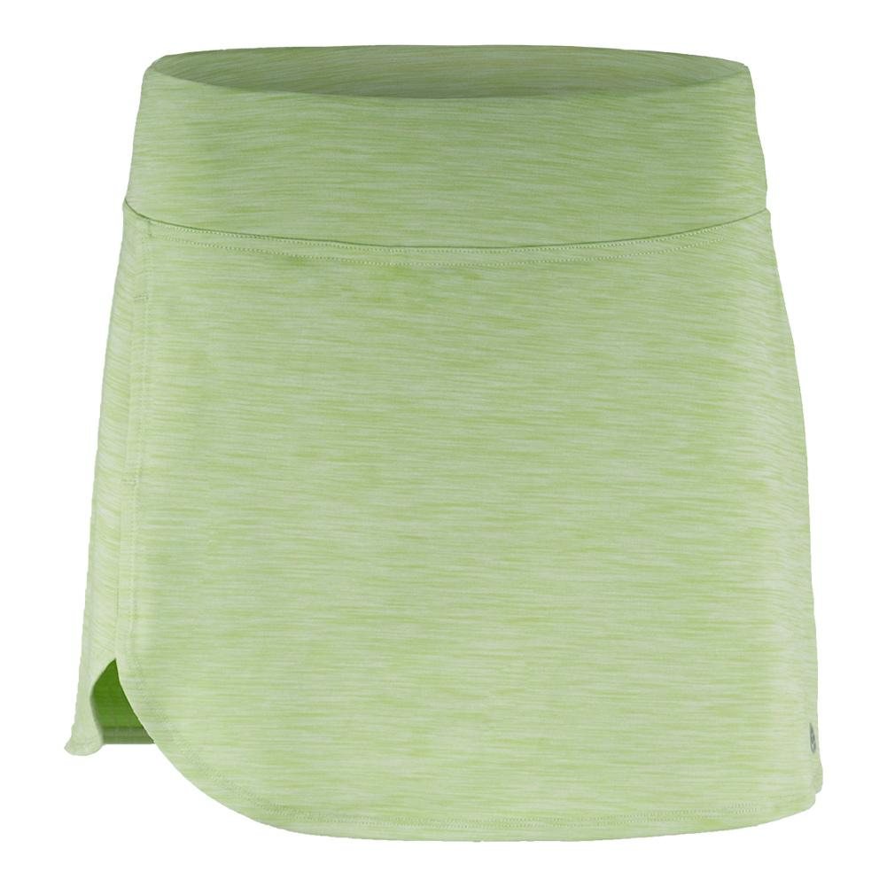 Women's Poise Tennis Skort Leaf Green