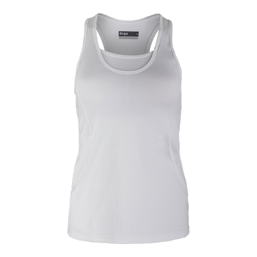 Women's Grace Tennis Tank White