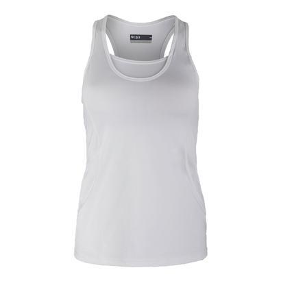 Women`s Grace Tennis Tank White