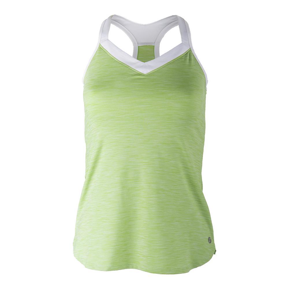 Women's Radiant Tennis Tank Leaf Green