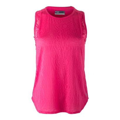 Women`s Lace Tennis Tank Rose