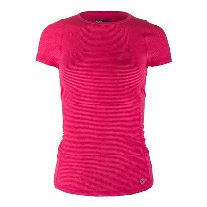 Women`s Fluid Tennis Tee Rose